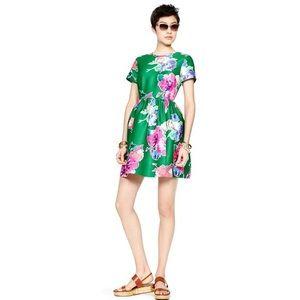 Kate Spade Stella Floral Print Dress